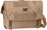 "CAT Combat 15.6"" Laptop Messenger Bag Dark Sand 83151"