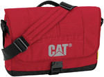 "CAT Millennial Caine 15.6"" Laptop Messenger Bag Fire Engine Red 83111"