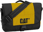 "CAT Millennial Caine 15.6"" Laptop Messenger Bag Yellow 83111"