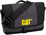 "CAT Millennial Caine 15.6"" Laptop Messenger Bag Anthracite 83111"