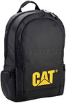 "CAT Tarp Power Denali 15.6"" Laptop Backpack Black 83026"