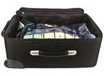 Travelon Travel Accessories Set of 2 Compression Packing Bags Clear 04250 - 2