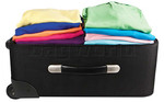 Travelon Travel Accessories Set of 2 Compression Packing Bags Clear 04250 - 1