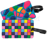 Travelon Travel Accessories Set of 2 Luggage Tags Jewel Mosaic 12967