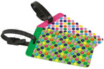 Travelon Travel Accessories Set of 2 Luggage Tags Dots 12657