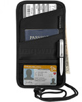 Travelon Travel Accessories ID and Boarding Pass Holder Black 42763