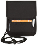Travelon Travel Accessories ID and Boarding Pass Holder with Snap Closure Black 42764