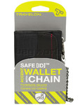 Travelon Travel Accessories SafeID Accent Wallet with Chain Black 82868 - 3