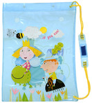 Ben & Holly Drawstring Swim Bag Blue BH14