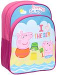 Peppa Pig Beach Backpack Pink PP80
