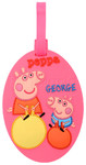 Peppa Pig Bag Tag Pink PP78