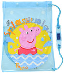 Peppa Pig Drawstring Swim Bag Blue PP81