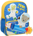 Play School Little Ted In Space Backpack Blue PS16