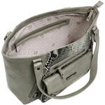 RMK Snake Large Tote RFID Blocking Handbag Grey Snake H1200 - 3