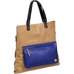 RMK Luna XL Satchel RFID Blocking Handbag Tan H1247 - 2