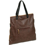 RMK Luna XL Satchel RFID Blocking Handbag Tan H1247 - 1