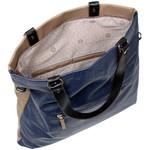 RMK Luna XL Satchel RFID Blocking Handbag Navy H1247 - 4