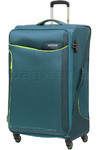 American Tourister Applite 2.0 Large 82cm Softside Suitcase Teal Green 68054