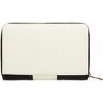 Eve Erin Supersize Zip Around RFID Blocking Wallet White Trim EW010 - 1