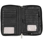Eve Erin Supersize Zip Around RFID Blocking Wallet White Trim EW010 - 3