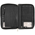 Eve Erin Supersize Zip Around RFID Blocking Wallet White Trim EW010 - 4
