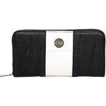 Eve Erin XL Zip Around RFID Blocking Wallet Black EW012