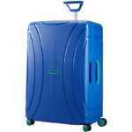 American Tourister Lock 'N' Roll Large 75cm Hardside Suitcase Skydiver Blue 74921