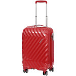 American Tourister Zavis Small/Cabin 55cm Hardside Suitcase Autumn Red 70570