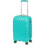 American Tourister Zavis Small/Cabin 55cm Hardside Suitcase Pastel Turquoise 70570