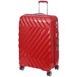 American Tourister Zavis Large 77cm Hardside Suitcase Autumn Red 70573