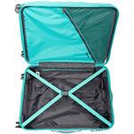 American Tourister Zavis Large 77cm Hardside Suitcase Pastel Turquoise 70573 - 3