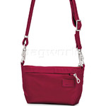 Pacsafe Citysafe CS25 RFID Blocking Cross Body & Hip Purse Cranberry 20195