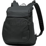 "Pacsafe Citysafe CS300 RFID Blocking Anti-Theft Compact 11"" Laptop Backpack Black 20230"
