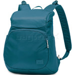 "Pacsafe Citysafe CS300 RFID Blocking Anti-Theft Compact 11"" Laptop Backpack Teal 20230"
