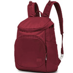 "Pacsafe Citysafe CS350 RFID Blocking Anti-Theft 13.3"" Laptop Backpack Cranberry 20232"