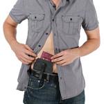 Pacsafe Coversafe V60 RFID Blocking Secret Belt Wallet Grey 10136 - 2