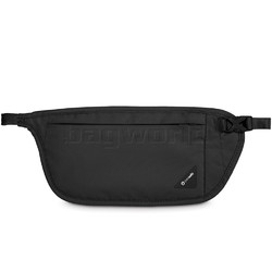 Pacsafe Coversafe V100 RFID Blocking Waist Wallet Black 10142