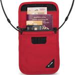 Pacsafe Coversafe X75 Anti-Theft RFID Blocking Neck Pouch Grey 10148 - 1