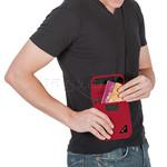 Pacsafe Coversafe X75 Anti-Theft RFID Blocking Neck Pouch Grey 10148 - 2