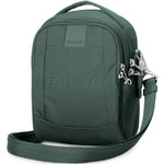 Pacsafe Metrosafe LS100 RFID Blocking Anti Theft Cross Body Bag Pine Green 30400