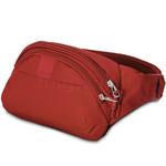 Pacsafe Metrosafe LS120 RFID Blocking Anti Theft Hip Pack Vintage Red 30405
