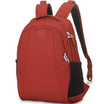 "Pacsafe Metrosafe LS350 RFID Blocking Anti-Theft 13.3"" Laptop 15L Backpack Vintage Red 30430"