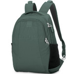 "Pacsafe Metrosafe LS350 RFID Blocking Anti-Theft 13.3"" Laptop 15L Backpack Pine Green 30430"