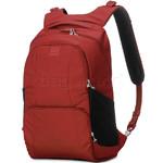 """Pacsafe Metrosafe LS450 RFID Blocking Anti-Theft 15"""" Laptop Backpack Vintage Red 30435"""