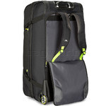 High Sierra AT8 Large 81cm Backpack Drop Bottom Wheel Duffel Black 67927 - 2