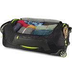 High Sierra AT8 Large 86cm Wheel Duffel Black 67933 - 4