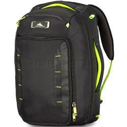 "High Sierra AT8 17.3"" Laptop Convertible Backpack/Shoulder Carry-On Black 67939"