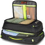 "High Sierra AT8 17.3"" Laptop Convertible Backpack/Shoulder Carry-On Black 67939 - 4"