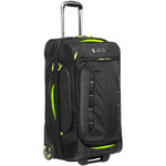 High Sierra AT8 Medium 66cm Drop Bottom Wheel Duffel with Backpack Straps Black 67926