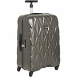 Antler Atlas Medium 67cm Hardside Suitcase Charcoal 39623